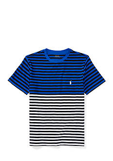 Ralph Lauren Childrenswear Double Color Stripe Tee Boys 8-20