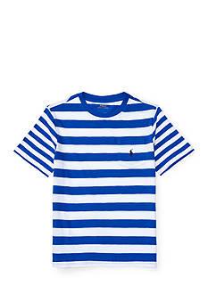 Ralph Lauren Childrenswear Double Stripe Tee Boys 8-20