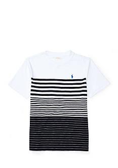 Ralph Lauren Childrenswear Define Stripes Tee Boys 8-20