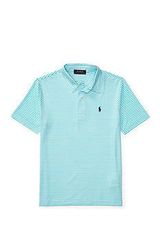 Ralph Lauren Childrenswear Performance Lisle Short Sleeve Polo Boys 8-20
