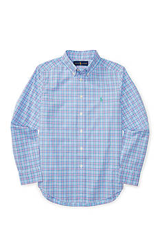 Ralph Lauren Childrenswear Cotton Poplin Button Down Shirt Boys 8-20
