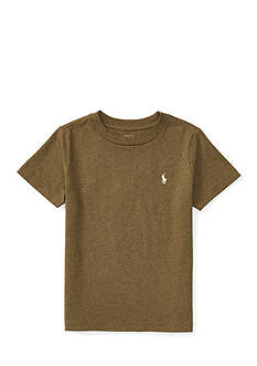 Ralph Lauren Childrenswear Cotton Jersey Crewneck Tee Boys 8-20