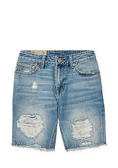 Ralph Lauren Childrenswear Distressed Cutoff Denim Shorts Boys 8-20