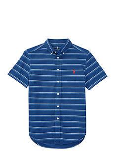 Ralph Lauren Childrenswear Striped Cotton Shirt Boys 8-20