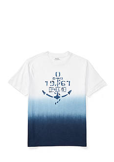 Ralph Lauren Childrenswear Ombre Graphic Tee Boys 8-20