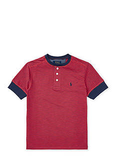 Ralph Lauren Childrenswear Multi-Striped Cotton Henley Boys 8-20