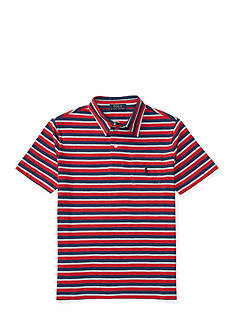 Ralph Lauren Childrenswear Striped Cotton Polo Shirt Boys 8-20