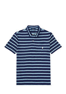 Ralph Lauren Childrenswear Slub Cotton Jersey Polo Shirt Boys 8-20