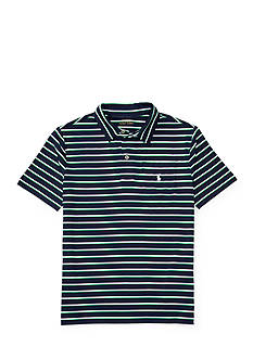 Ralph Lauren Childrenswear Striped Performance Polo Shirt Boys 8-20