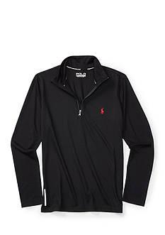 Ralph Lauren Childrenswear Stretch Half-Zip Boys 8-20