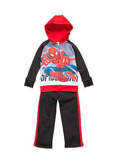 Marvel™ 2-Piece Spiderman Hoodie and Tricot Pants Set Boys 4-7
