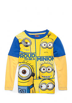 Nannette Minion Long Sleeve Tee Boys 4-7