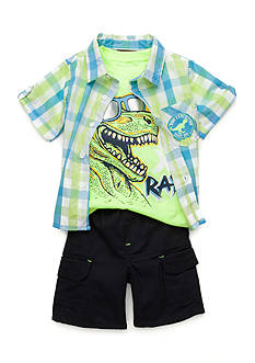 Nannette 3-Piece Dino Set Boys 4-7