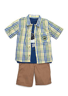 Nannette 3-Piece Shark Set Boys 4-7