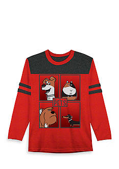 Hybrid™ Secret Life Of Pets Box Metro Long Sleeve Tee Boys 4-7