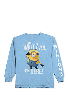 Despicable Me™ Long Sleeve 'The Wait Is Over' Minions Tee Boys 4-7