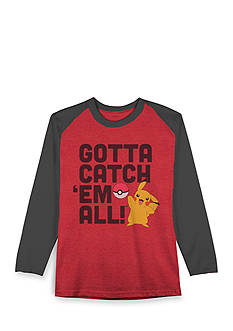 Hybrid™ Pokemon Catch Em All Long Sleeve Tee Boys 4-7