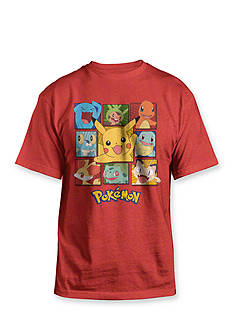 Pokemon Character Tee Boys 4-7