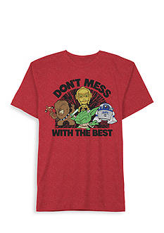 Hybrid™ Star Wars 'Don't Mess With The Best' Tee Boys 4-7