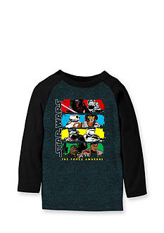 Star Wars Long Sleeve Character Raglan Tee Boys 4-7