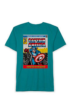 Hybrid™ Marvel Captain American Cover Tee Boys 8-20