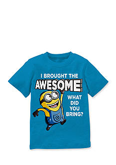 Despicable Me™ Short Sleeve I'm Awesome Minion Tee Boys 8-20