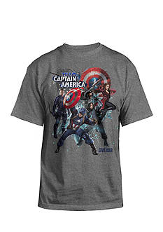 Hybrid™ Team Captain America Tee Boys 8-20