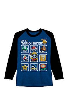 Super Mario Maker Tee Boys 8-20