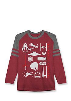Hybrid™ Star Wars Icons Long Sleeve Tee Boys 8-20