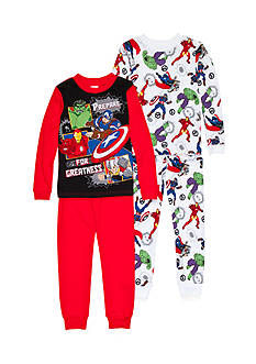Marvel 4-Piece Avengers® Pajama Set Boys 4-20