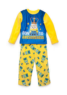 AME Royal Minion Fleece Pajamas Boys 4-20