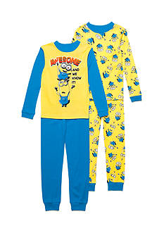 Despicable Me™ 4-Piece Minion Pajama Set Boys 4-20