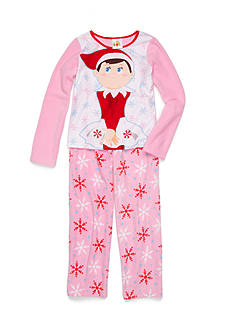 AME Elf on the Shelf Fleece Pajamas 2-Piece Set Girls 4-16