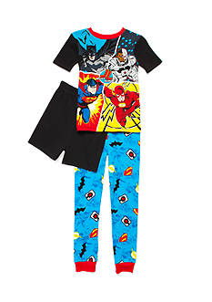 DC Comics Justice League™ Superhero 3-Piece Pajama Set Boys 4-20