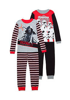 AME 4-Piece Star Wars® Pajama Set Boys 4-20