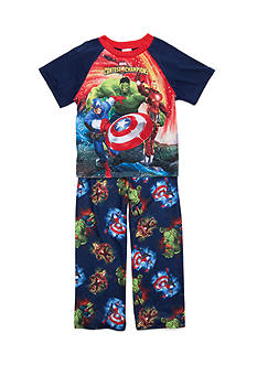 Marvel™ Heroes 2-Piece Pajama Set Boys 4-20