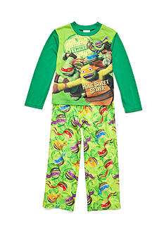 Nickelodeon™ Teenage Mutant Ninja Turtles™ 2-Piece Ninja Stealth 'Home Sweet Sewer' Pajama Set Boys 4-20