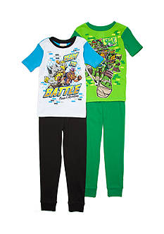 Nickelodeon™ Teenage Mutant Ninja Turtles® 4-Piece Pajama Set Boys 4-20