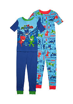 AME PJ Masks 4-Piece Pajama Set Boys 4-20