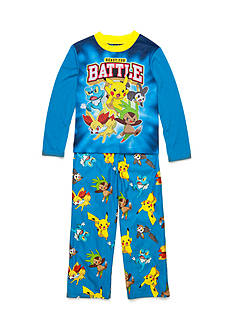 Pokémon™ 2-Piece Pokemon™ 'Ready For Battle' Pajama Set Boys 4-20
