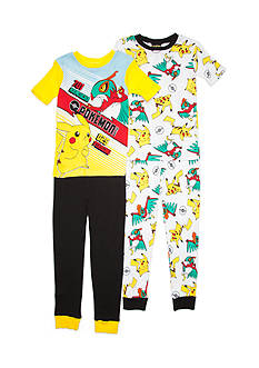 Pokémon™ 4-Piece Battle Pajama Set Boys 4-20