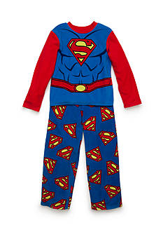 Superman Fleece Pajamas Boys 4-20