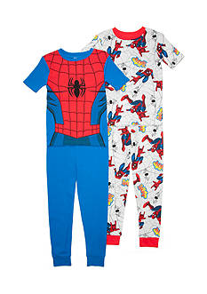 Marvel Spider-Man 4-Piece Pajama Set Boys 4-20