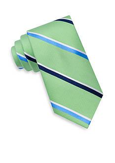 J. Khaki Sea Stripe Tie