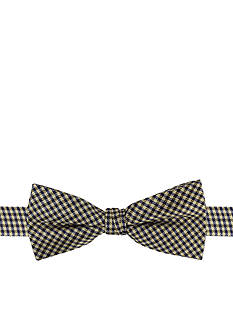 J. Khaki Mini Gingham Bowtie Boys 4-20