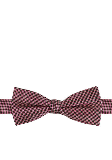 J. Khaki® Basic Mini Gingham Bow Tie Boys 4-20