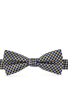 J. Khaki Gingham Bow Tie Boys 4-20