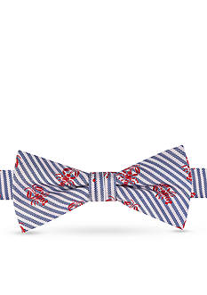 J. Khaki Lobster Stripe Tie Boys 4-20