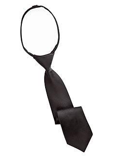 J. Khaki Solid Zip Tie Boys 2-7