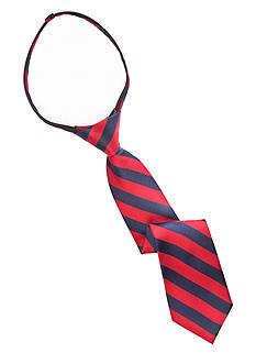 J. Khaki Stripe Zip Tie Boys 2-7